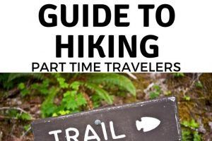 When traveling, whether, with your family or solo, one of the best things to do is to get out there and go hiking. Use our Beginners Guide to hiking to get started! #hiking #ourroaminghearts #outdoors #fulltimetravelers #parttimetravelers | Getting started Hiking | Full-time Travelers | Part-Time Travelers | Hiking Facts