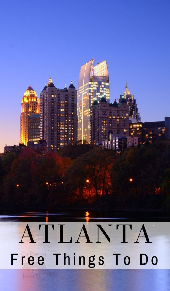There is so much to do in Atlanta it can be mind-boggling! Where do you start? I put together a list of free things to do in Atlanta to ease the stress. #atlanta #georgia #ourroaminghearts #frugaltravel #freethingstodo | Free things to do in Atlanta | Atlanta Georgia Travel | Frugal Travel | Budget Friendly Travel | Atlanta Travel
