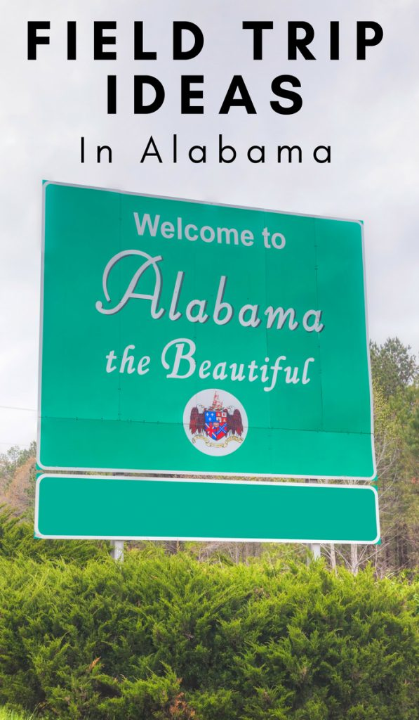 Keep things fun when homeschooling by visiting educational attractions. Looking for some Field Trip Ideas in Alabama? Check out my top 25 ideas! #alabama #fieldtrips #familyvacation #historylesson #homeschooling #ourroaminghearts | Alabama | Things to do | Travel Plans | Homeschooling Lesson | Roadschooling | Field Trip Ideas
