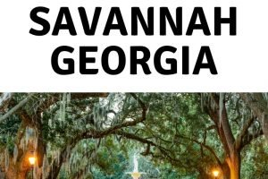 First timers guide to Historic Savannah Georgia (1)
