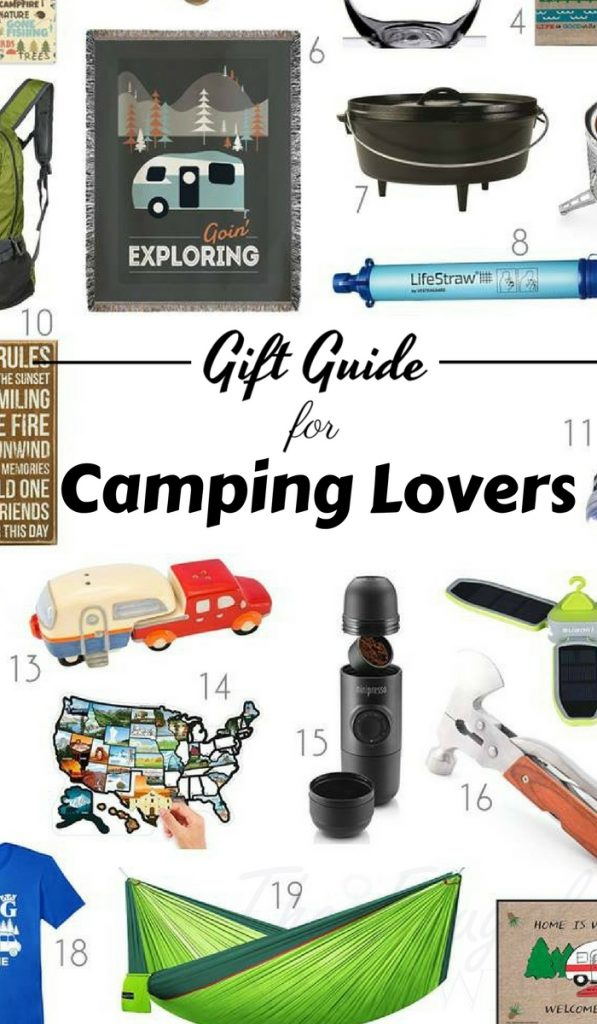 camping gift ideas