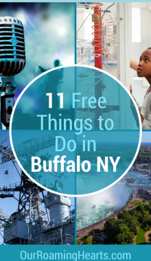Grab your family and enjoy a day or two in Buffalo without breaking the bank! Here are your top 10 Free things to do in Buffalo. #ourroaminghearts #buffalo #newyork #frugaltravel #freefamilyattractions | Buffalo New York | Travel Buffalo | New York Travel | Free Family Attractions | Things to do in Buffalo | Free Things to do in Buffalo New York with Kids