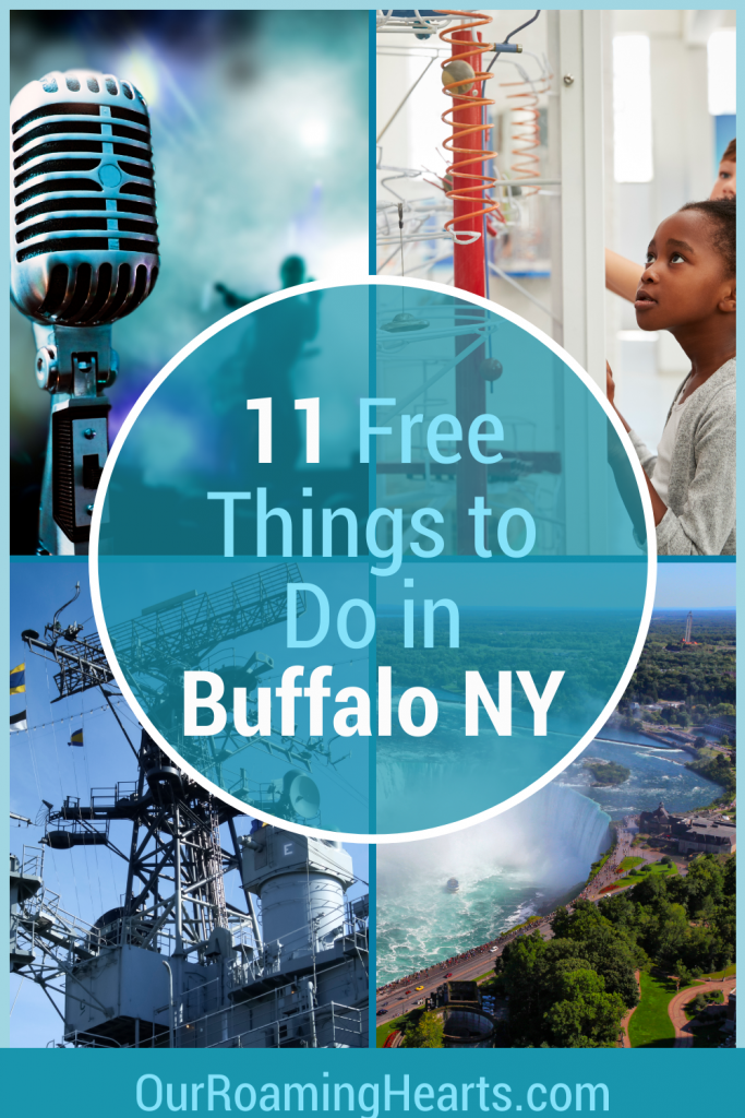 Grab your family and enjoy a day or two in Buffalo without breaking the bank! Here are your top 10 Free things to do in Buffalo. #ourroaminghearts #buffalo #newyork #frugaltravel #freefamilyattractions   Buffalo New York   Travel Buffalo   New York Travel   Free Family Attractions   Things to do in Buffalo   Free Things to do in Buffalo New York with Kids