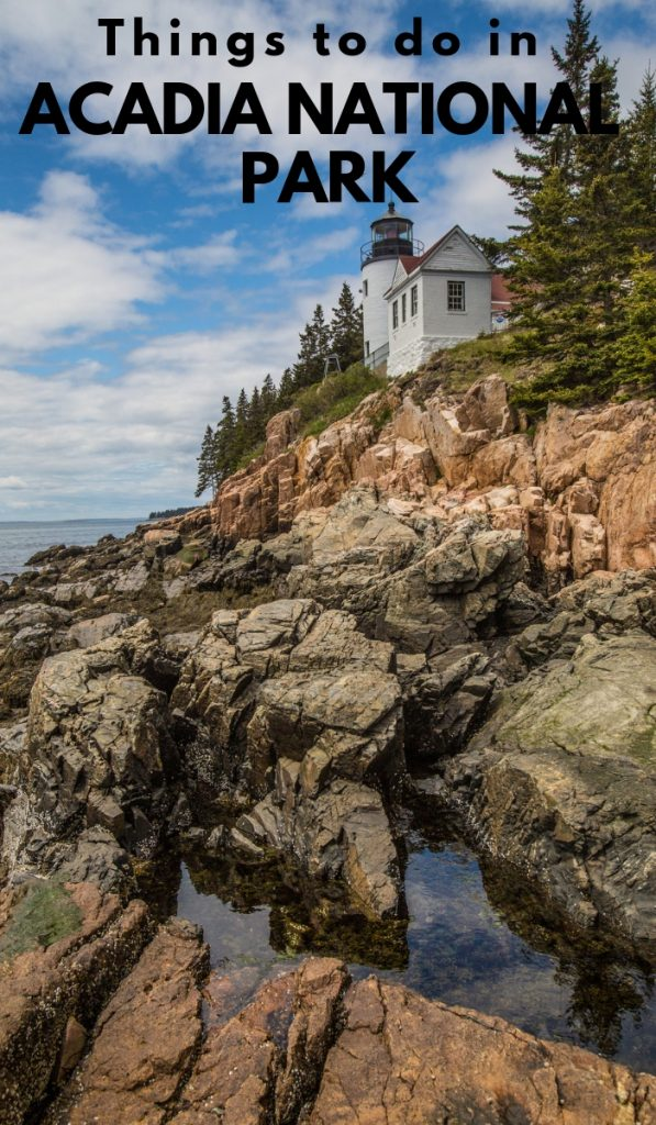 There are miles and miles of forest and vegetation to explore at Acadia National Park. Check this list of Acadia National Park things to do. #nationalpark #acadianationalpark #ourroaminghearts #thingstodo #maine   Things to do   Acadia National Park   National Parks   Main Travel   Maine National Parks