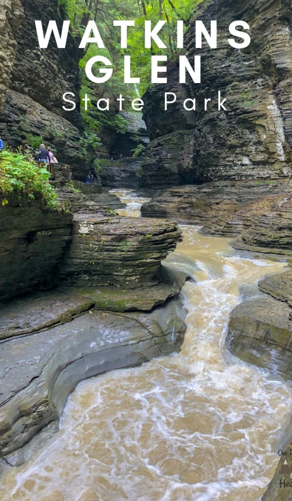 Watkins Glen State Park New York is rated as one of the best in the country. Come view this exceptional hike through multiple photos here. #hiking #stateparks #newyork #ourroaminghearts #watkinsglennstatepark   New York State Parks   New York Hiking   Watkins Glen State Park