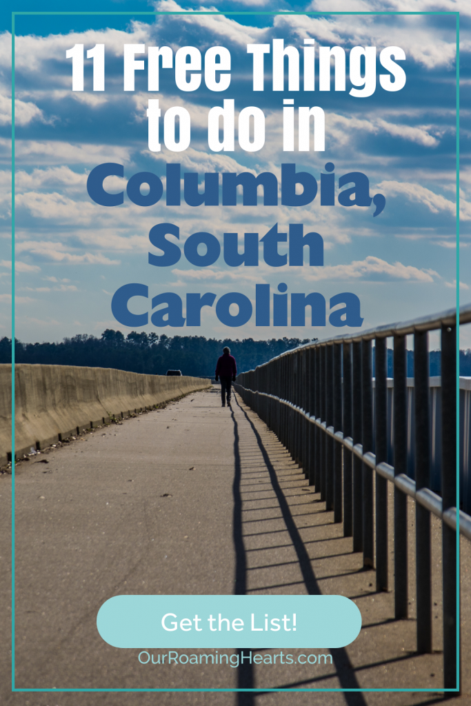 Free things to do in Columbia, South Carolina? Yes, please! Go ahead and check out all of the free things you can do in this city! You will love what you're able to explore. #freethingstodo #columbiasouthcarolina #ourroaminghearts #frugaltravel #thingstodo #couthcarolina   Family Vacation   Free Things to Do   Travel South Carolina   Family-Friendly Activities   Frugal Travel   Staycation Ideas   Columbia, South Carolina