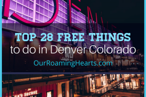 There is so much to do in Denver Colorado that your budget will need a break! Check out these 27 amazing free things to do in Denver! #denver #freethingstodo #ourroaminghearts #coloradotravel | Colorado | Free Things to do | Denver Travel | Travel Guide Denver | Free things to do in Denver |