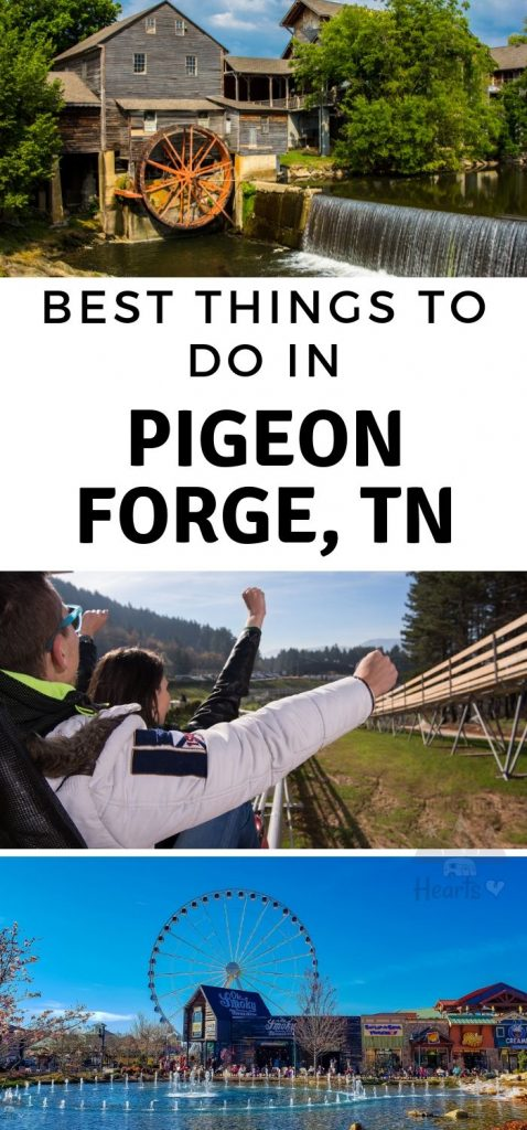 It was so hard to choose these 30 of the Best Things to do in Pigeon Forge TN. You will have so much fun while visiting, don't forget this activities list! #tennessee #pigeonforge #travel #ourroaminghearts | Things to do In Pigeon Forge | Tennessee Travel | Visiting Pigeon Forge |