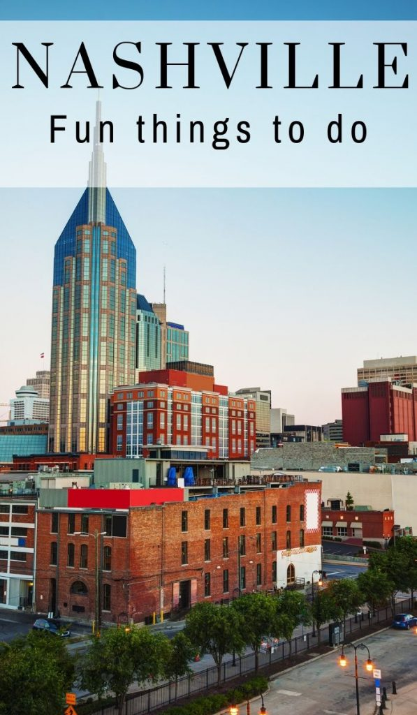 """Make the most of your time in Nashville. Use this extensive """"What do to in Nashville TN"""" list and not miss any hot spots. It will be a trip of a lifetime! #ourroaminghearts #nashville #thingstodo #tennessee #whattodoinnashville   Tennessee Travel   Nashville Tourism   What to do in Nashville   Nashville Sites   Frugal Travel"""
