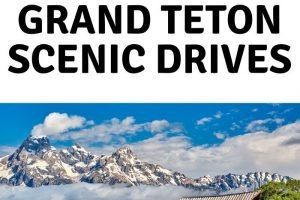 No matter what stretch of pavement you decide to take, you are in for a treat. Here's a look at some of the Grand Teton National Park scenic drives. #grandtetons #nationalpark #scenicdrive #ourroaminghearts #wyoming   Wyoming   Grand Tetons National Park   National Parks   Scenic Drives   Grand Tetons
