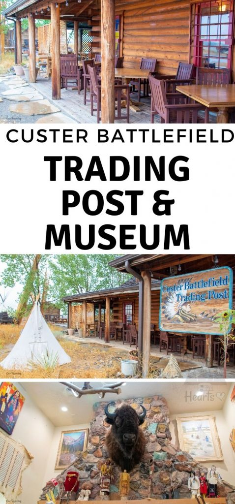 Visiting Little Bighorn Battlefield? Be sure you stop by the Custer Battlefield Trading Post and Custer Battlefield Museum. It's worth the visit! #ourroaminghearts #littlebighorn #custerbattlefield #museum #montana #billings   Things to do in Billings, MT   Little Big Horn Battlefield   Custer Battlefield Trading Post   Custer Battlefield Museum   History of Montana