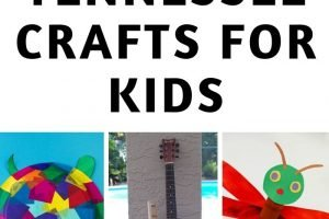 These are my top Tennessee Crafts for our unit study!Some crafts are on the state itself, others are different animals, people, and locations across Tennessee. #tennessee #ourroaminghearts #craftsforkids #tennesseeunitstudy #roadschooling | Roadschooling | Tennessee Unit Study | Easy Crafts for Kids | Learning about Tennessee