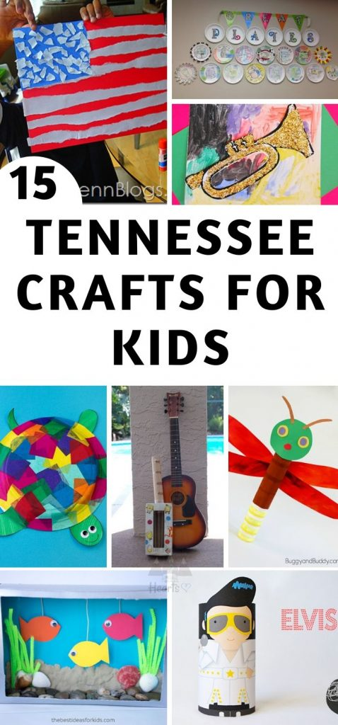 These are my top Tennessee Crafts for our unit study! Some crafts are on the state itself, others are different animals, people, and locations across Tennessee. #tennessee #ourroaminghearts #craftsforkids #tennesseeunitstudy #roadschooling | Roadschooling | Tennessee Unit Study | Easy Crafts for Kids | Learning about Tennessee