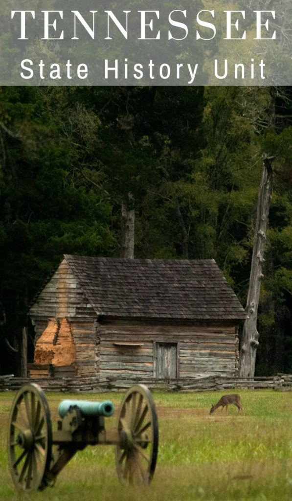 The state of Tennessee has a lot of history, famous people, resources and great places to visit. Here's more Tennessee State History, did you know these? #history #tennessee #unitstudy #roadschooling #ourroaminghearts | Tennessee History | Unit Study | Tennessee Unit Study | Roadschooling | Homeschooling