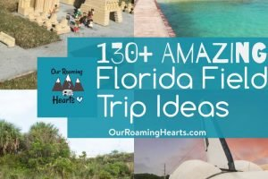 Going on field trips is the highlight of any homeschool kids' day. Here are over 130+ Top Florida field trip ideas the whole family will love. #ourroaminghearts #florida #roadschooling #homeschooling #fieldtricps #floridaunitstudy | Florida Unit Study | Florida Field Trip Ideas | Roadschooling | Homeschooling Ideas |