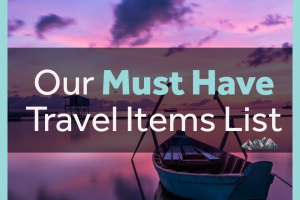 heading on vacation? Do not forget these must-have travel items to make your trip the best it can be! What are you packing? #ourroaminghearts #packinglist #vacationpacking #musthavetravelitems #travelpacking | Travel Packing List | Must Have Travel Items | Vacation Packing | What to pack when traveling